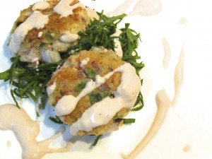 Pan Fried Lobster Cakes