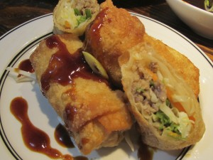 Pork and Cabbage Egg Rolls